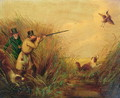Duck Shooting Amongst Reeds - (after) Jones, Samuel John Egbert