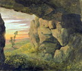 A Cavern near to St Agnese without the Porta Pia - Thomas Jones