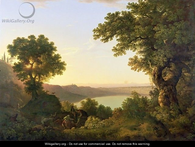 Lake Albano - Thomas Jones