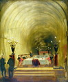 Banquet in Thames Tunnel held on 10th November 1827 - George Jones