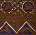 Byzantine Ornament from an enamelled casket from Les Arts du Moyen Ages - Owen Jones