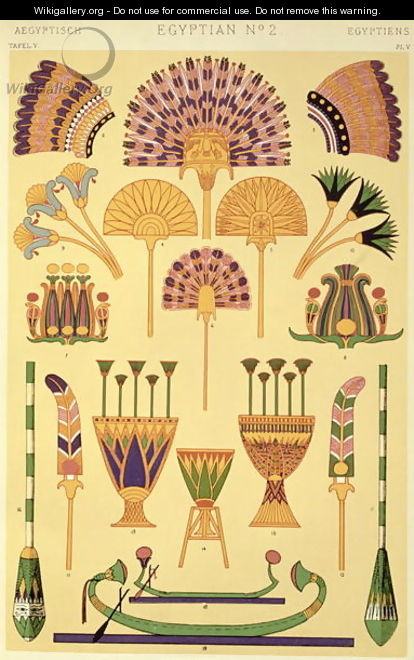 Egyptian Ornament from Ch II - Owen Jones