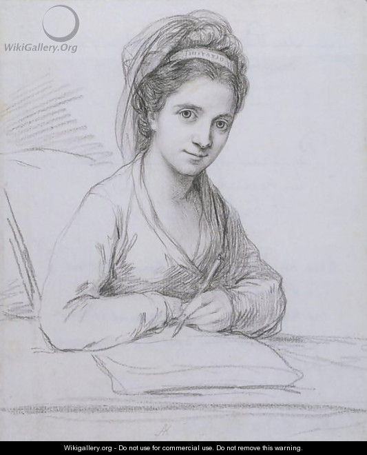 Self Portrait 3 - Angelica Kauffmann