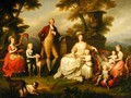 Ferdinand IV 1851-1825 King of Naples and his Family - Angelica Kauffmann