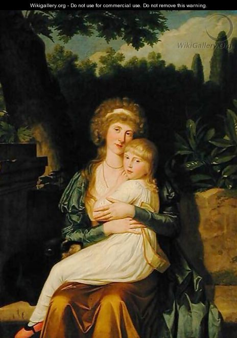 Lady Hervey and her Daughter - Angelica Kauffmann