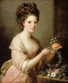 Portrait of Eleanor Countess of Lauderdale - Angelica Kauffmann