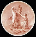 Nymphs Adorning a Statue of Pan - (after) Kauffmann, Angelica