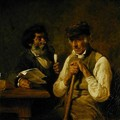 Workers Talking Politics - Hermann Kauffmann