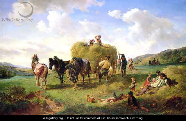 The Hay Harvest - Hermann Kauffmann