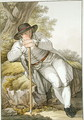 A Peasant of the Tesino Valley in Tyrol - (after) Kapeller, Josef Anton
