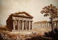 The Temple of Neptune and the Basilica at Paestum - Franz Kaisermaan