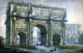 Triumphal Arch of Constantine Rome - Franz Kaisermaan