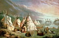 Indian Encampment on Lake Huron - Paul Kane