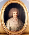 Portrait of a lady Mrs Mackway - Jens Juel