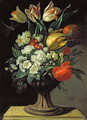 Still Life with Flowers - Jens Juel