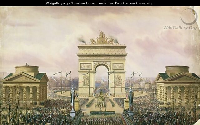 Return of the Ashes of the Emperor to Paris - Theodore Jung