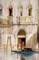 The Steps of the Palazzo Foscari Venice - James Holland