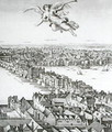 View of London 6 - Wenceslaus Hollar