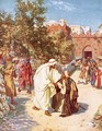 Jesus healing a leper - William Brassey Hole