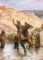 The Assyrian Rabshakeh demanding the surrender of Jerusalem - William Brassey Hole