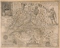 John Smiths Map of Virginia - William Hole