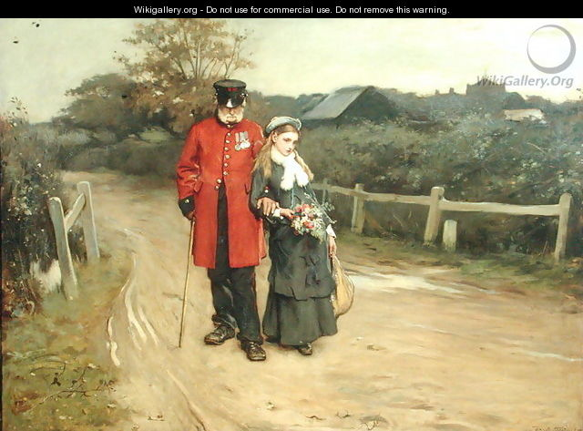 Going Home - Frank Holl