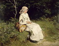 Resting by the Way - Frank Holl