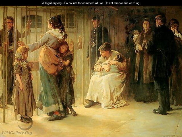 Newgate Committed for Trial - Frank Holl