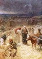 King David purchasing the threshing floor - William Brassey Hole