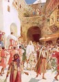 Jesus entering Jesusalem - William Brassey Hole