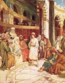 Christ speaking with the doctors in the temple in Jerusalem - William Brassey Hole