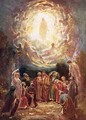 Jesus ascending into heaven - William Brassey Hole
