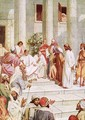 Jesus brought before Pilate - William Brassey Hole