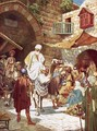Wise men enquiring of the birth of the King of the Jews - William Brassey Hole