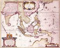 General map extending from India to southern Japan and northern Australia by way of the Indonesian archipelago and the Philippines - Hendrik I Hondius