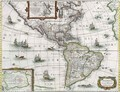 Map of the Americas - Henricus Hondius