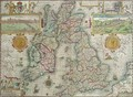 Map of the Kingdom of Great Britain and Ireland - Jodocus Hondius