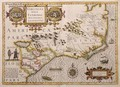 Map of Virginia and Florida - Jodocus Hondius
