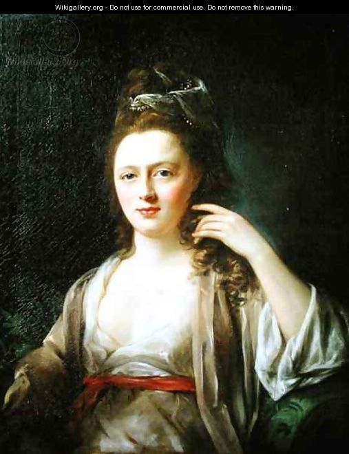 Portrait of a Lady 2 - Nathaniel Hone