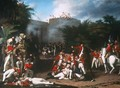 The Death of Colonel Moorehouse at the Storming of the Pettah Gate of Bangalore on 7th March 1791 - Robert Home