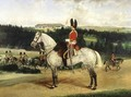 A Squadron Sergeant Major a Kettle Drummer and a Detachment of Scots Greys - Edwin Frederick Holt