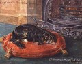 King Charles Spaniel at Rest - Edwin Frederick Holt
