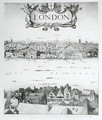 View of London 3 - Wenceslaus Hollar