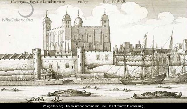 The Tower of London - Wenceslaus Hollar