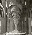 Interior of the Nave of St Pauls - (after) Hollar, Wenceslaus