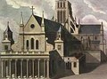 South side of Old St Pauls Cathedral - (after) Hollar, Wenceslaus
