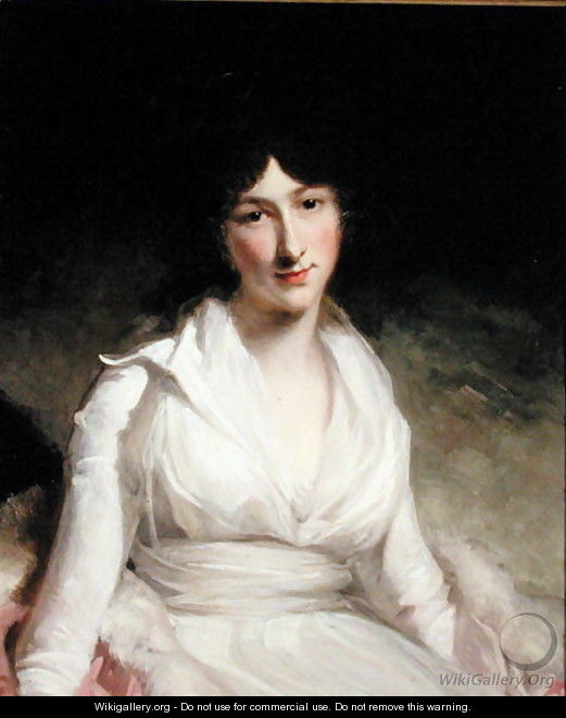 Portrait of Lady Charlotte - John Hoppner