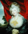 Portrait of the Hon Isabella Ingram later Marchioness of Hertford 1759-1834 - John Hoppner