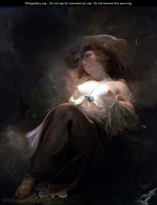 Jupiter and Io - John Hoppner