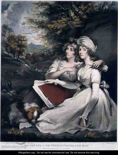 The Daughters of Sir Thomas Frankland Bart - (after) Hoppner, John